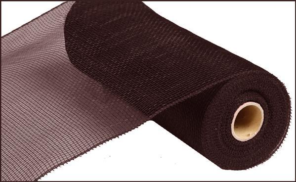 "10"" Value Mesh- Chocolate  SKU RE8002C8"