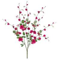 "27"" Trellis Rose Bush- Fuchsia  SKU K-1154"
