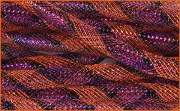 16mm Deco Flex Tubing- Purple/Orange/Black  SKU RE3031M8