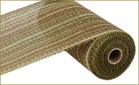 "10"" Woven Paper Mesh- Multi Moss/Brown SKU RR800763"