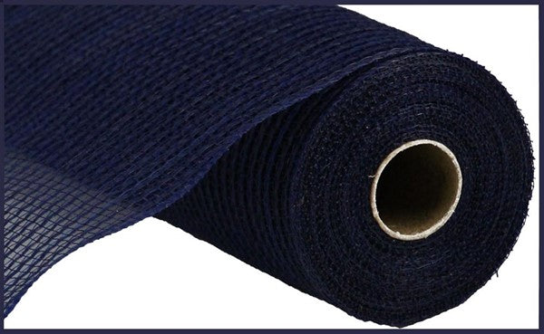 "10""  Stripe Fabric Mesh - Navy  RY831219"