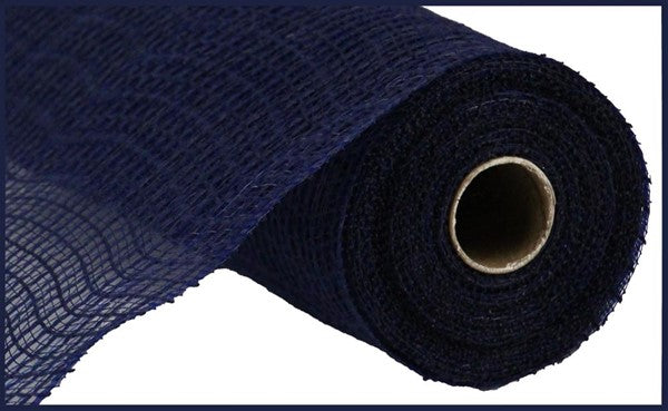 "10"" Check Fabric Mesh -Navy  SKU RY831319"