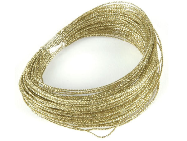 50FT Bowdabra Bow Wire-Gold   SKU BOW3030