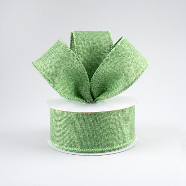 "1.5"" Royal Canvas Ribbon- Clover Green  SKU RG1278AM"