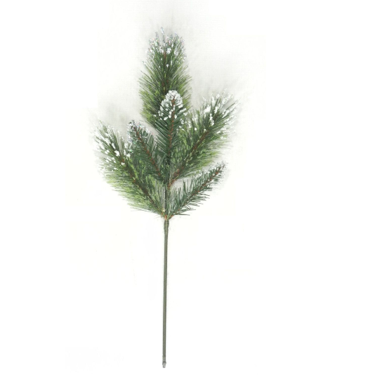"20""  Wintry Mix Bristle Pine Spray    SKU CVS554"