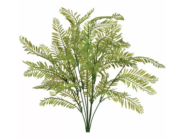 "19"" Fern Bush- Green SKU 43221GR"