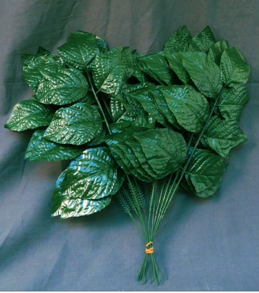 "15"" Hydrangea Leaf Pick-Green (12 picks) SKU CS21011"