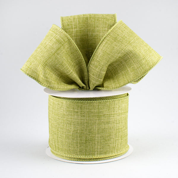 "2.5"" Royal Canvas Ribbon-Fern Green SKU RG12792Y"