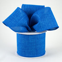 "2.5"" Royal Canvas Ribbon-Royal Blue SKU RG127925"
