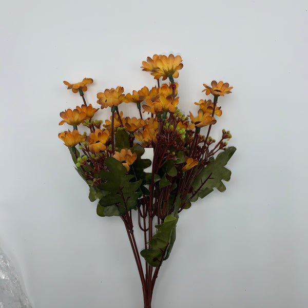 "13"" Mini Daisy Bush- Rusty  SKU ISB63352"