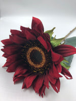 "26"" Longstem Sunflower-Red   SKU 30059836"