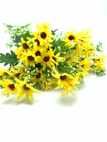"18"" Daisy Bush- Yellow   SKU 36332"