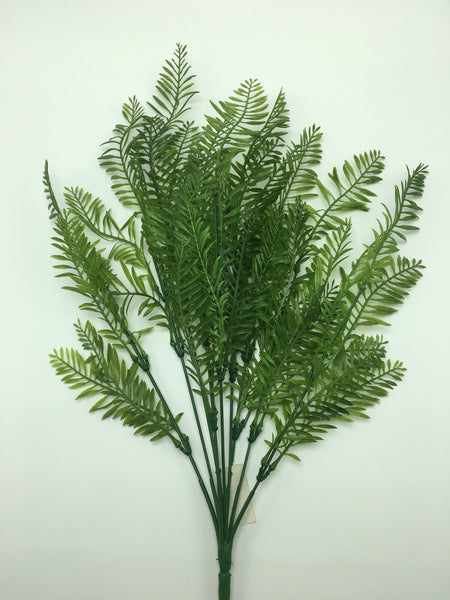 "19"" Fern Bush- Green SKU 43221"