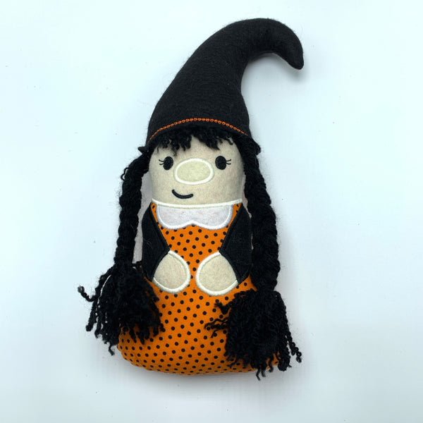 Artisan Halloween Girl Witch Attachment