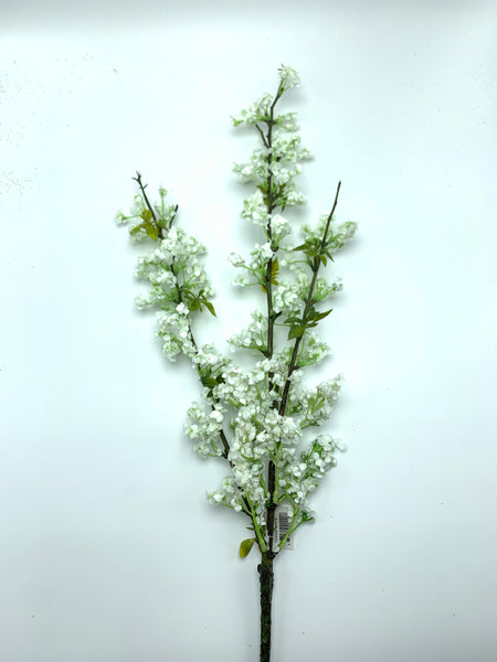 "31"" Blossom Spray-White   SKU 133933"
