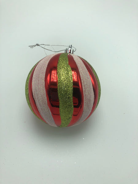 10mm Hanging Glitter Ball Ornament SKU  CN19081