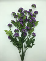 "21"" Thistle Ball Bush- Purple SKU 73315"