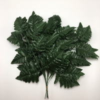 "16.5"" Leather Leaf Fern-Green (12 picks) SKU 13053GR"