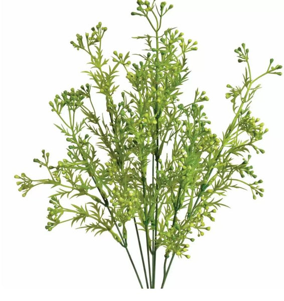 "17"" Mini Berry Bush- Green SKU 43841GR"