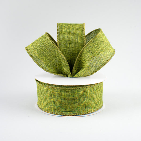 "1.5"" Royal Canvas Ribbon- Moss Green SKU RG127852"
