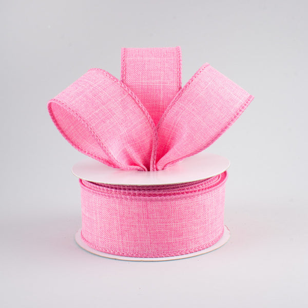 "1.5"" Royal Canvas Ribbon- Pink SKU RG127822"
