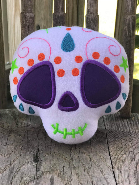 Shugs Day of The Dead Skull attachment