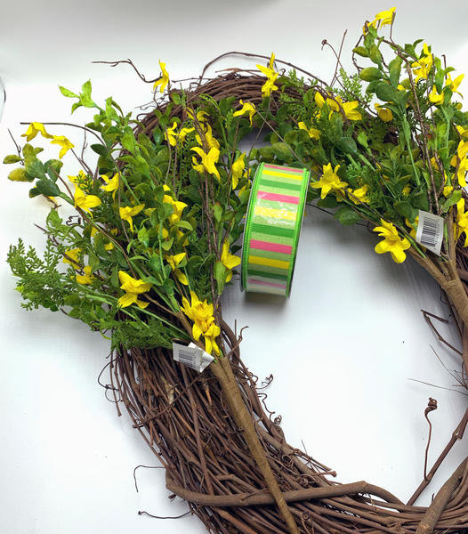 Spring Greenery Grapevine Kit