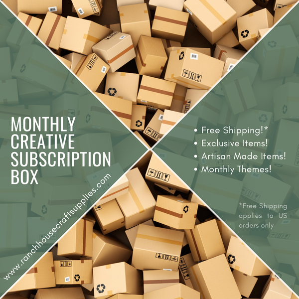 Monthly Creative Subscription Box