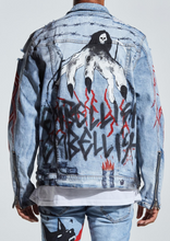 Load image into Gallery viewer, Reznor Denim Jacket