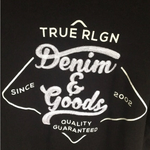 Denim Goods Graphic Tee (Black)