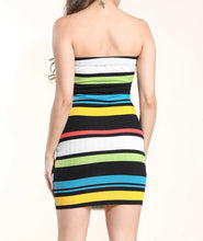 Load image into Gallery viewer, Multicolored mini dress