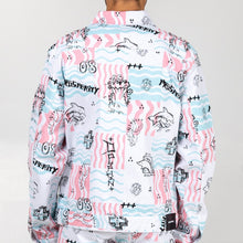 Load image into Gallery viewer, Scribbles V2 Denim Jacket In White