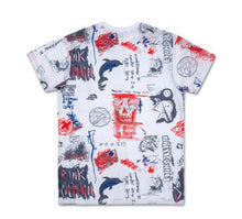 Load image into Gallery viewer, Liberty Scratch Tee in White