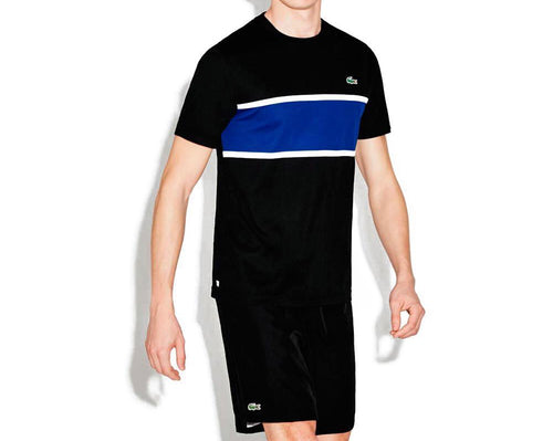 Sport Ultra Dry T-Shirt W/ Color Block Detail (Black/France White)
