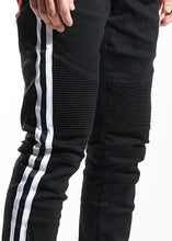 Load image into Gallery viewer, Vincent Biker Denim (Black)
