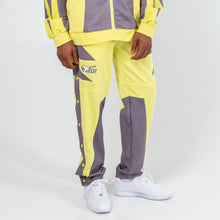 Load image into Gallery viewer, Rare Block Track Pants in Yellow
