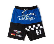 Load image into Gallery viewer, Club Foreign Performance T-Shirt and Shorts Set Blue/Black