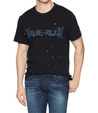 Load image into Gallery viewer, Denim Applique Graphic Tee