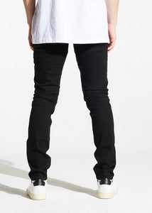 Parker Biker Denim (Black)