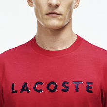 Load image into Gallery viewer, Lacoste Graphic Tee (Grenadine)