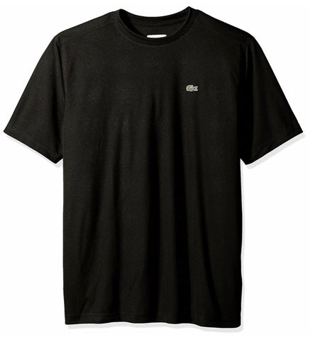 Sport Short Sleeve Solid Ultra Dry Tee Shirt (Black)