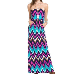 Sleeveless Sundress (Multi)