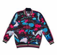 Load image into Gallery viewer, Japanese Garden Track Jacket in Black