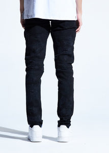 Hollins Biker Denim