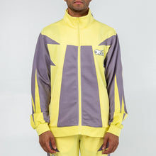 Load image into Gallery viewer, Rare Block Track Jacket in Yellow