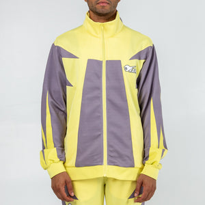 Rare Block Track Jacket in Yellow