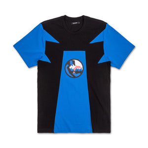 Rare Block Tee in Blue