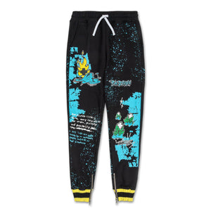 Drip Drip Sweatpant in Black
