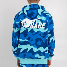 Load image into Gallery viewer, Ocean Camo Zip Hoodie