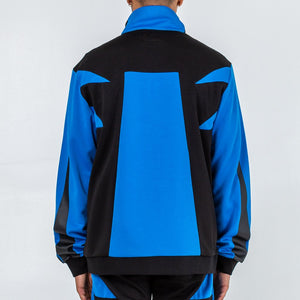 Rare Block Track Jacket in Blue